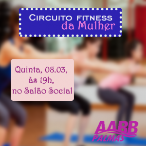circuito fitness mulher